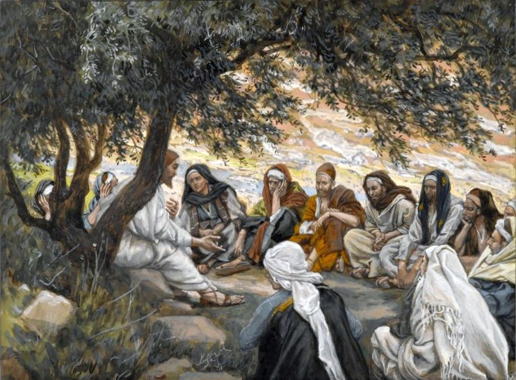 Christ's Exhortation to the Apostles, James Tissot